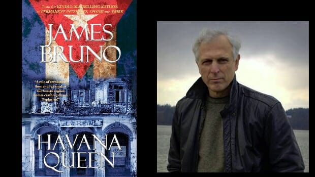 Spy thriller author James Bruno