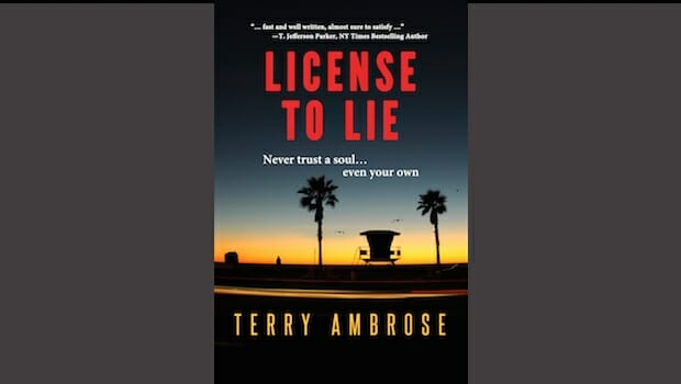 License to Lie a finalist in San Diego Book Awards