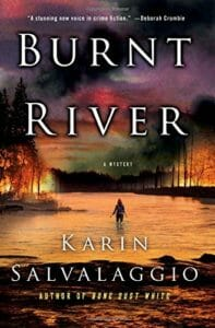 New thriller from Karin Salvalaggio Burnt River
