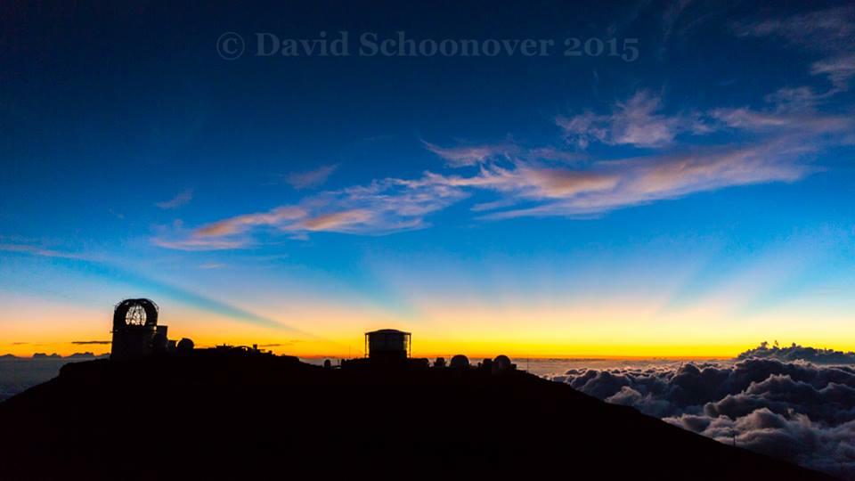 David Schoonover - summit of Haleakala