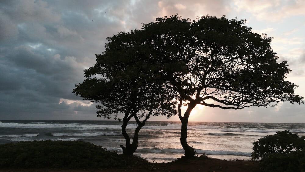 Nukolii Beach Sunrise - Kauai Beach Villas