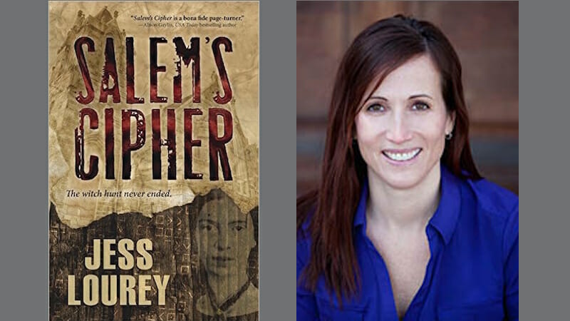 Behind the story of Salem's Cipher with Jess Lourey