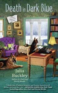 Death in Dark Blue by Julia Buckley