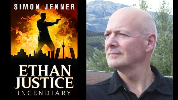 Behind the story of Ethan Justice with Simon Jenner