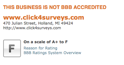 Surveying those emails offering big bucks to complete a survey