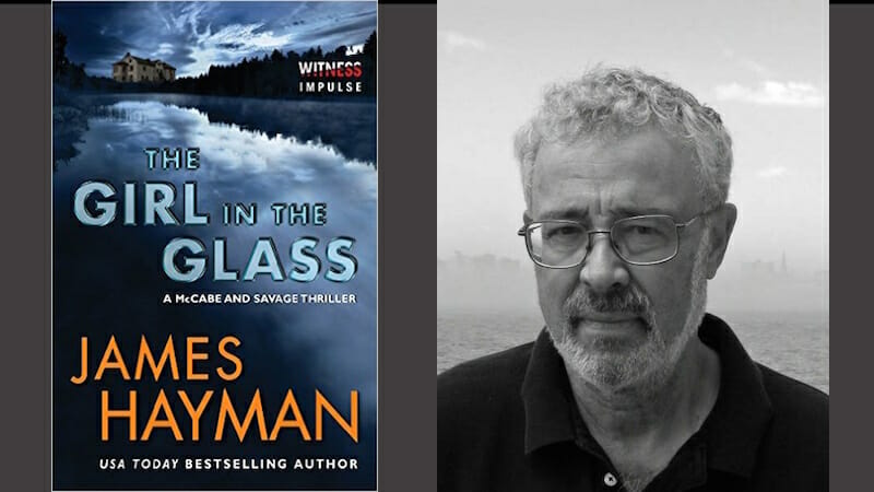 Behind James Hayman's The Girl in the Glass