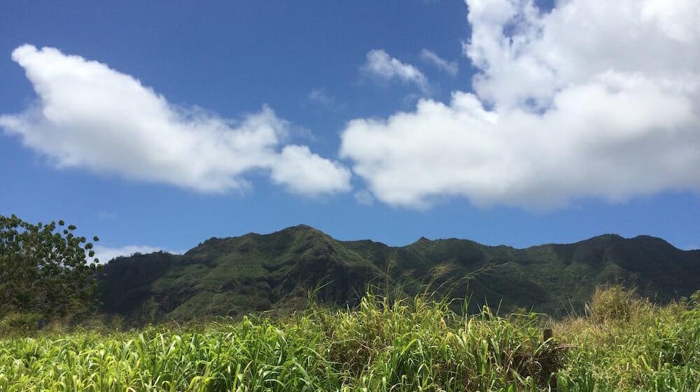 Kauai island photo - Haupu