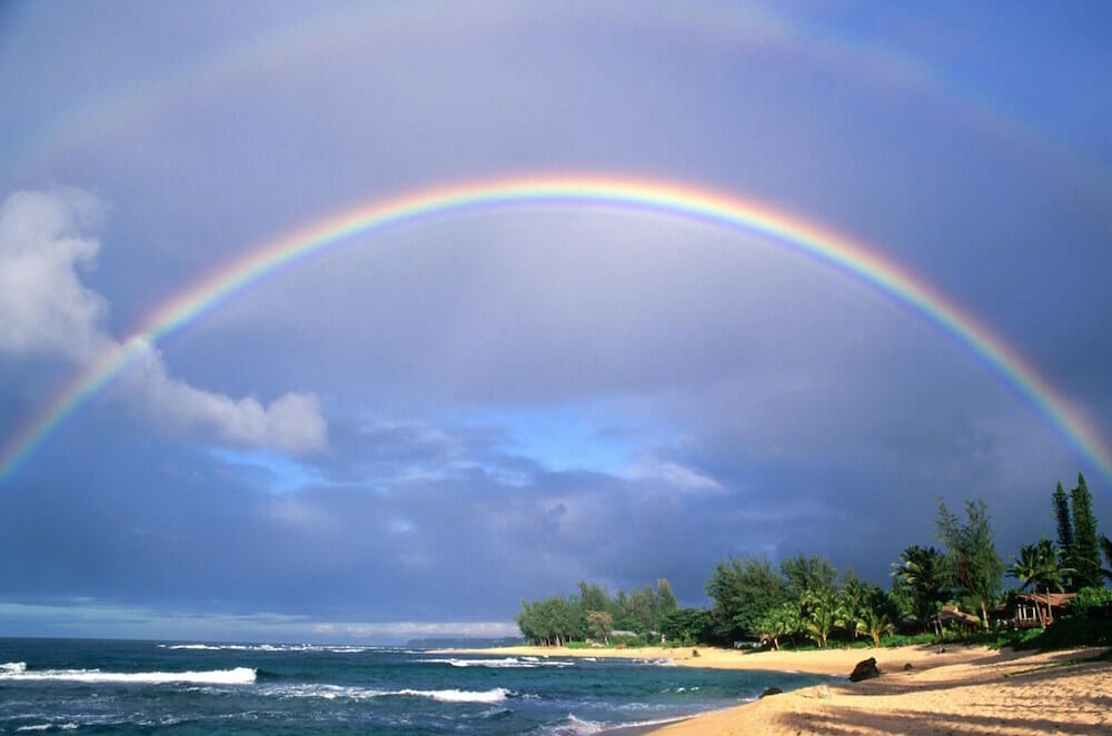 Friday Fotos — double Kauai rainbow