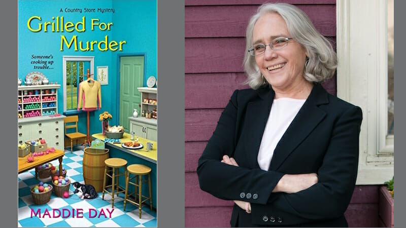 Behind the story of Grilled for Murder with Maddie Day