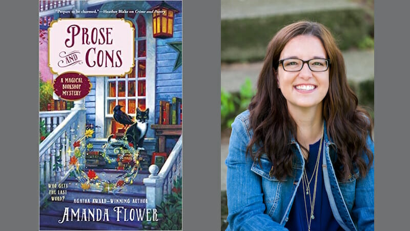 Behind the story of Prose and Cons with Amanda Flower