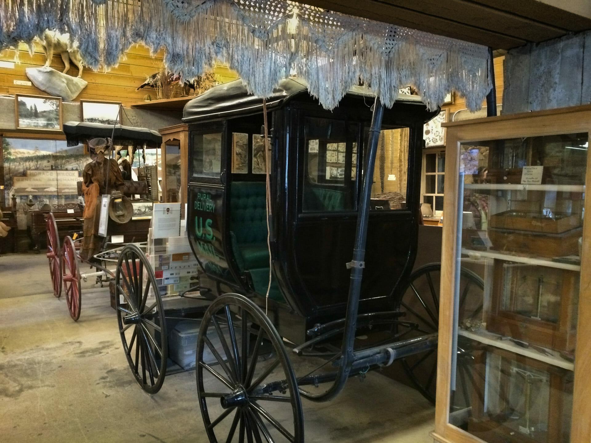 Julian Museum carriage