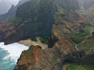 Na Pali Coast - the easy way - helicopter