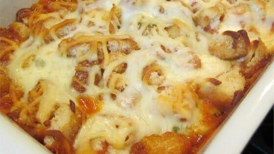 Easy Parmesan Chicken Bake
