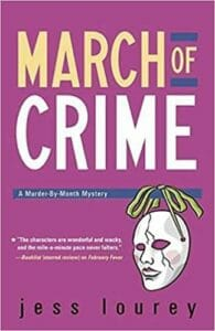March of Crime by Jessica Lourey