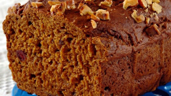 Cranberry Pumpkin Spice Bread - Terry Ambrose