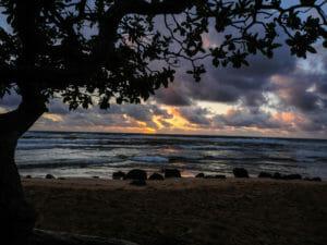 Surnise at Nukolii Beach - a Kaua'i favorite