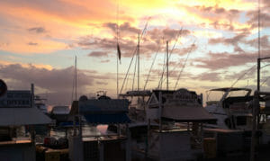 Lahaina Sunset at the harbor