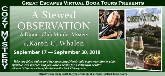 Guest post A Stewed Observation by Karen C. Whalen