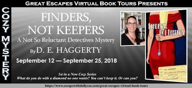 Behind the Story of Finders Not Keepers by D.E. Haggerty