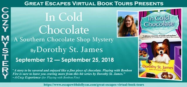 The making of a chocolate murder – a guest post by Dorothy St. James