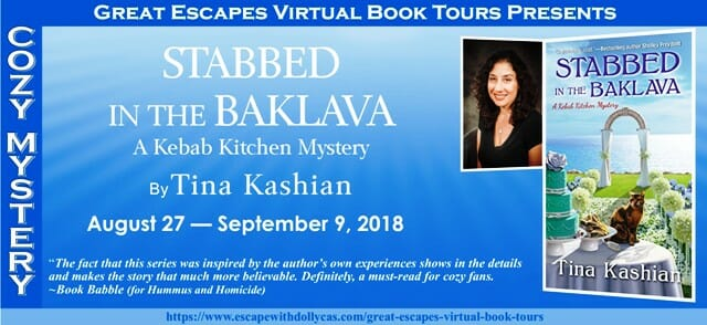 Guest post by Tina Kashian for Stabbed in the Baklava