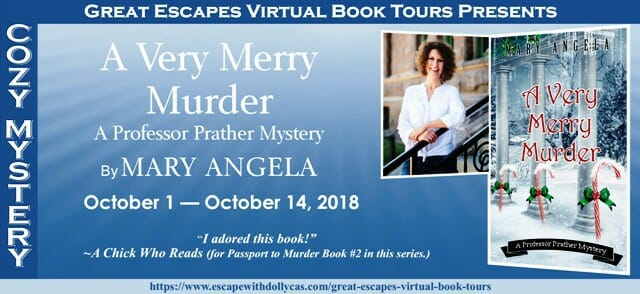 Spotlight on A Very Merry Murder by Mary Angela