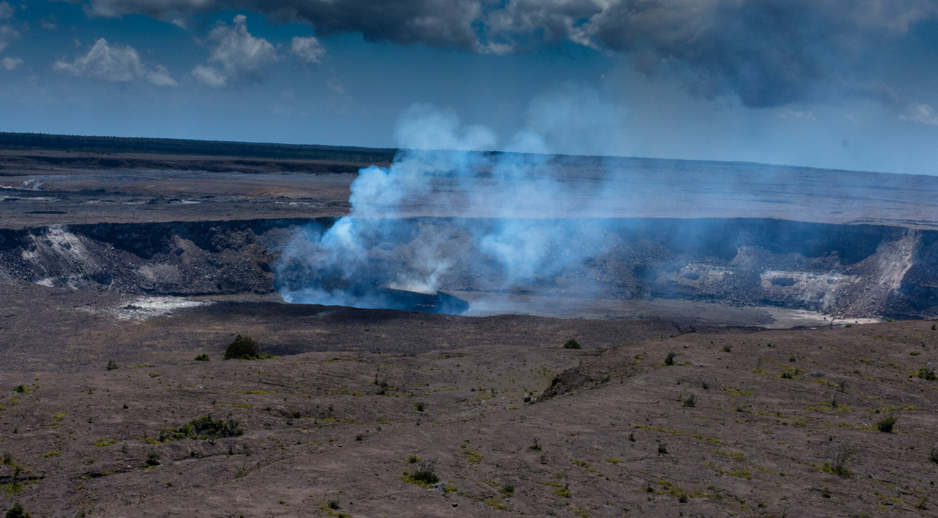 Friday Fotos – Kilauea summit view as it once was