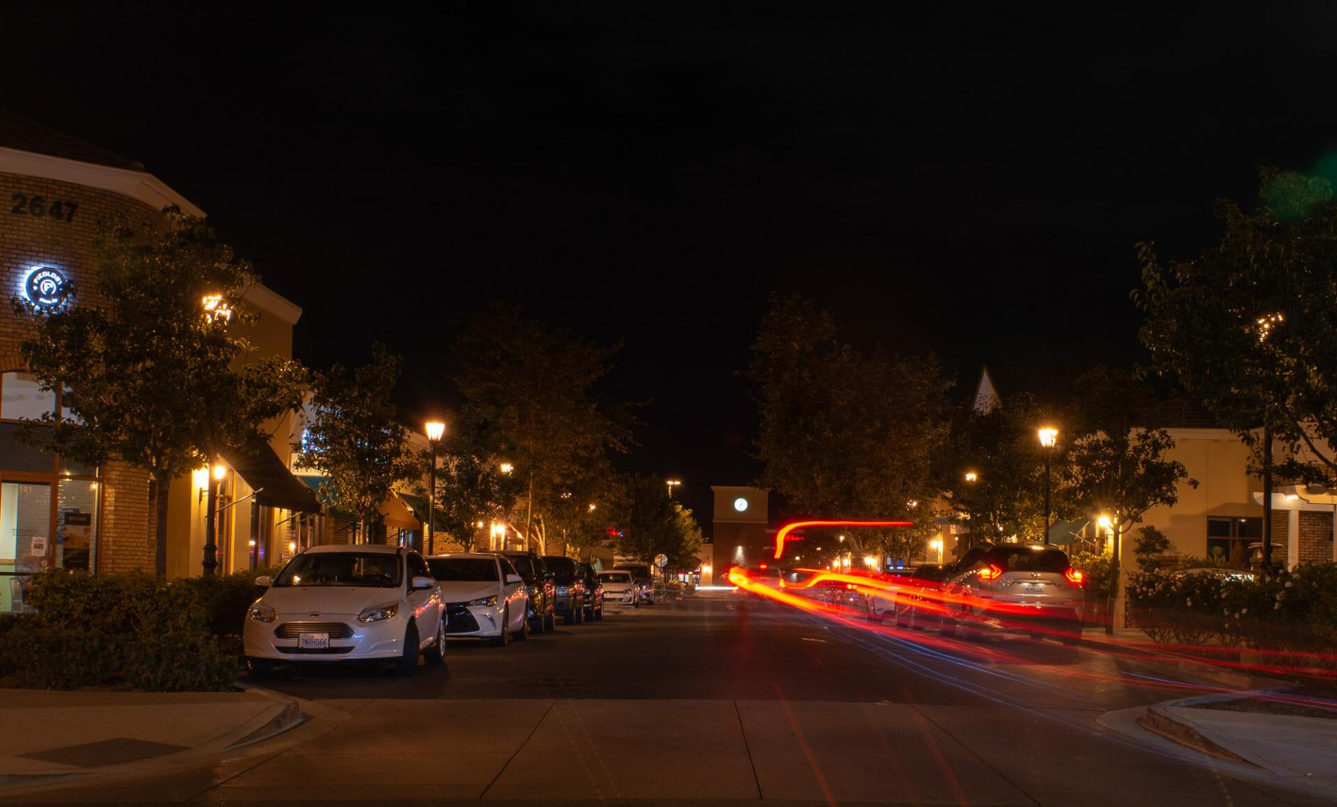 Photo post – Bressi Ranch lights at night