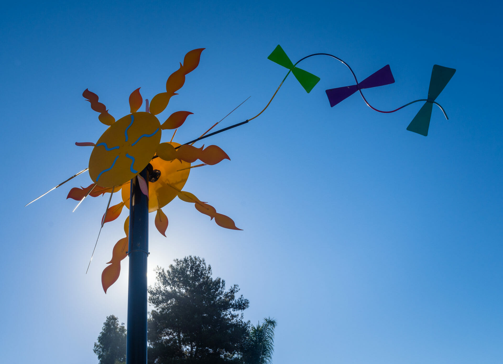 Winds of Change - Kites Over Vista Public Art