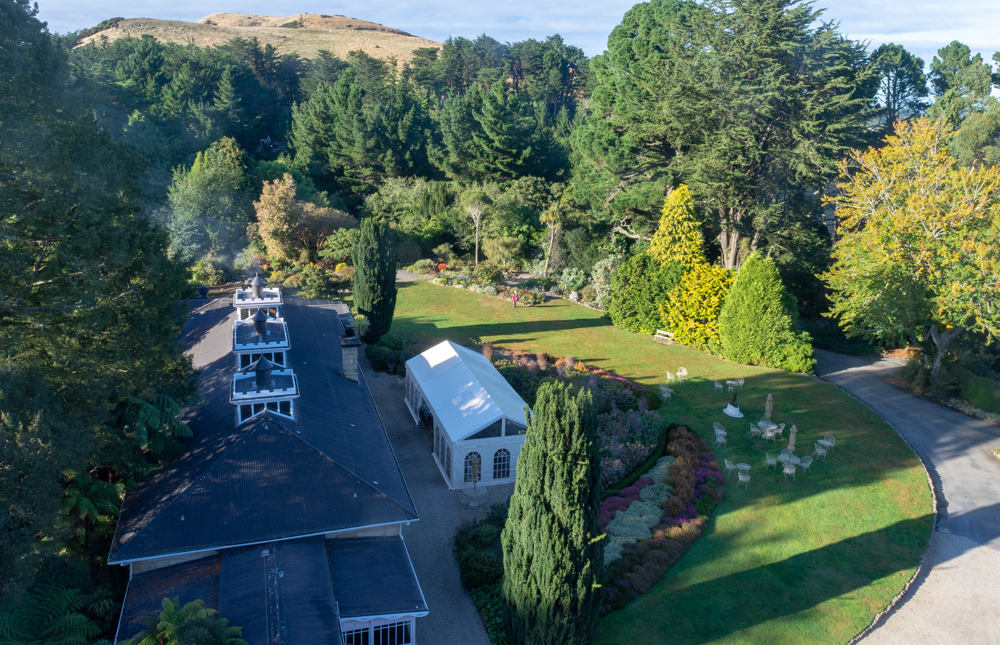 Larnach Castle grounds