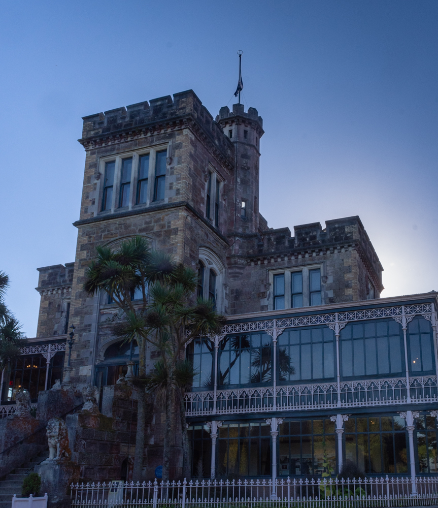 Larnach Castle looking majestic