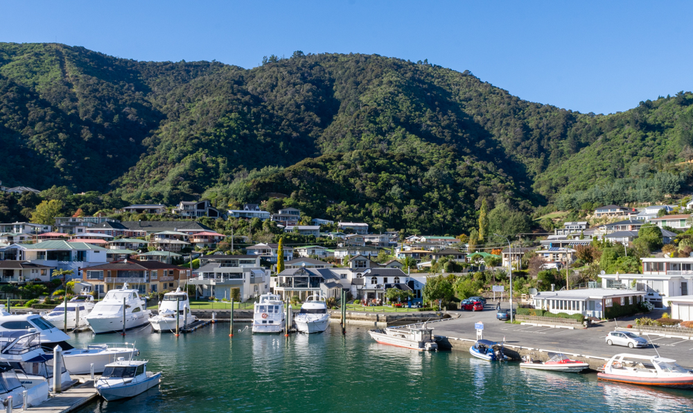 Looking inland from Picton Harbor
