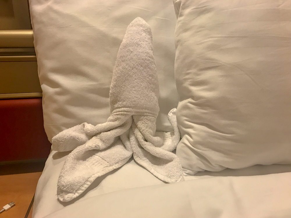 Our towel animal ocotpus