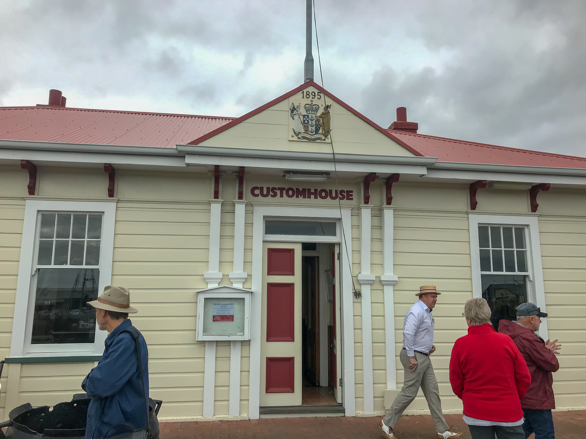 Napier customs house