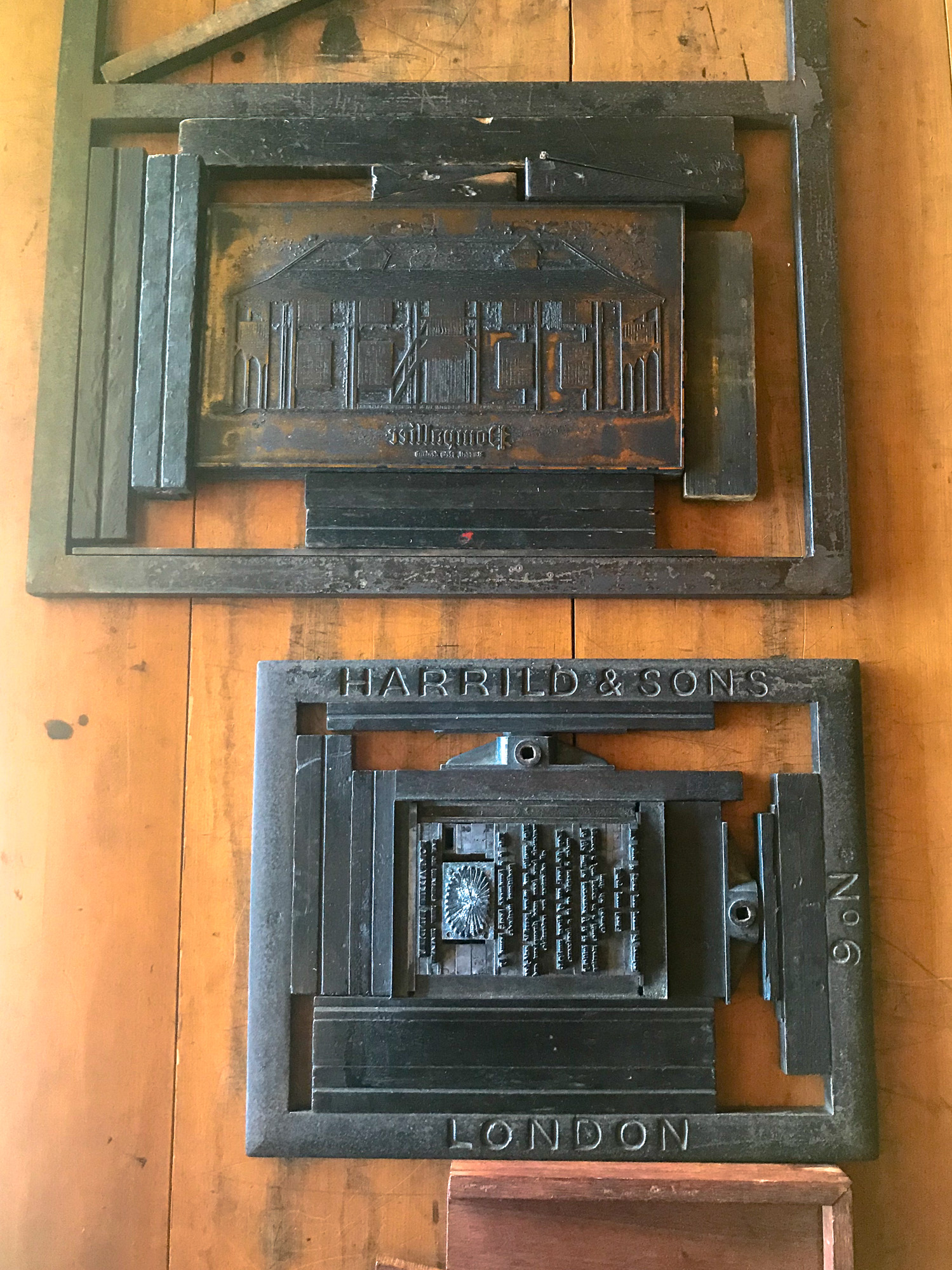 Printing press process