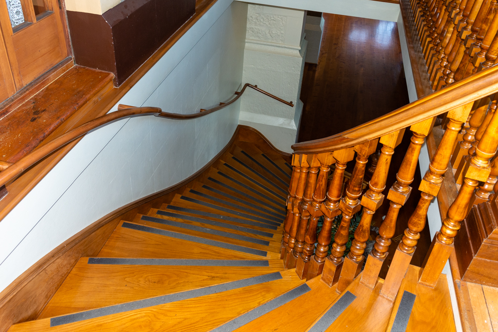 Staircase from second floor to first