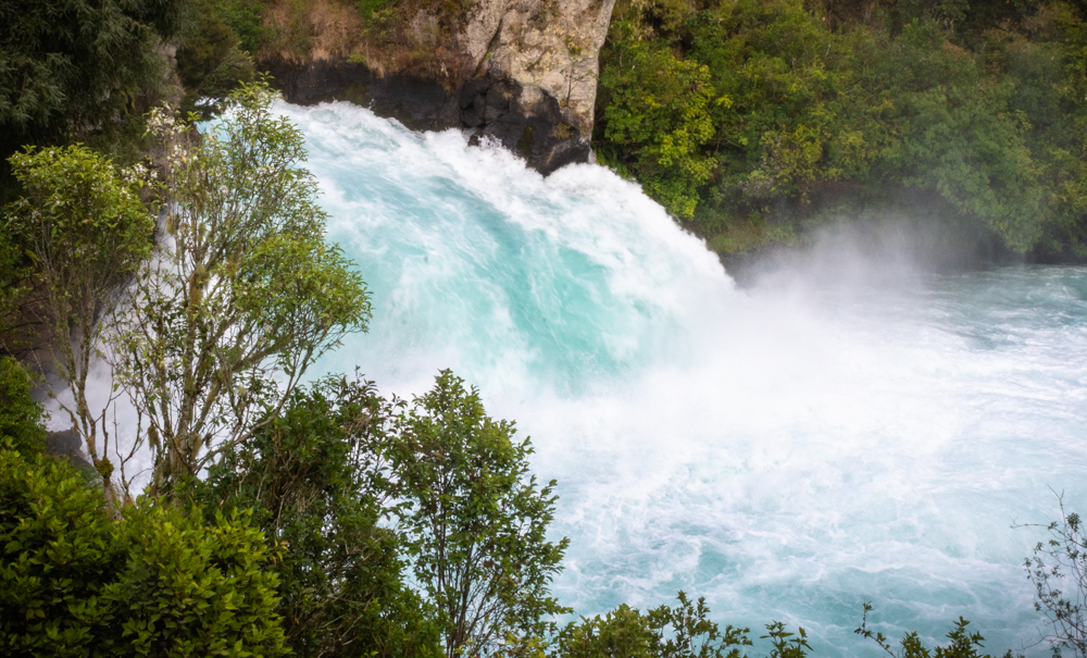 Huka Falls near Lake Taupo, New Zealand