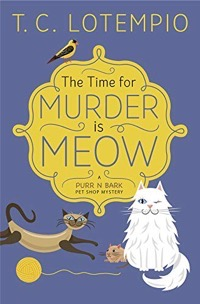 THE TIME FOR MURDER IS MEOW COVER