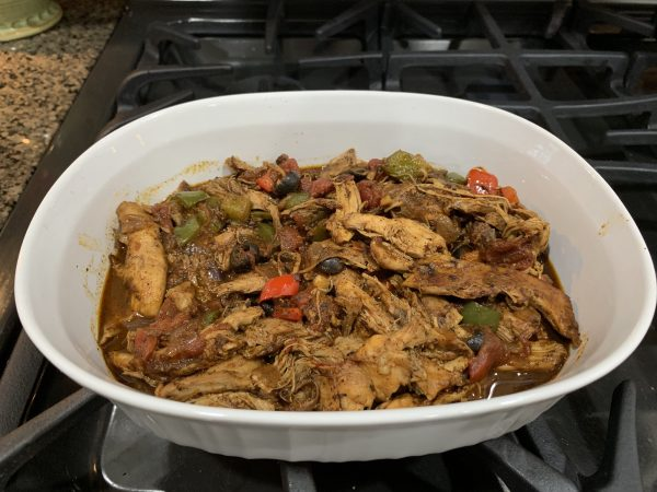 Mexican Chicken Braise