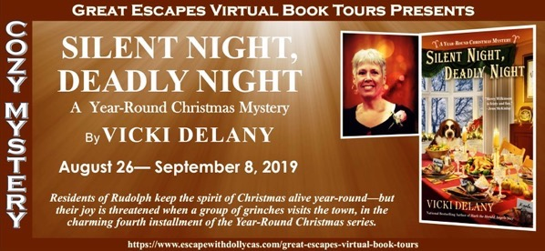 SILENT NIGHT DEADLY NIGHT BANNER 820