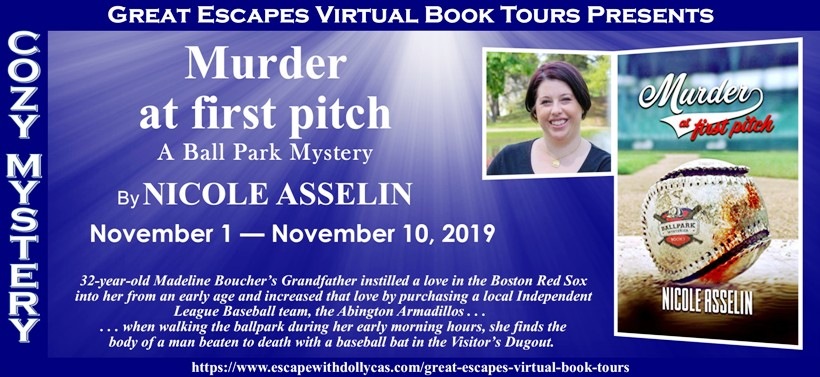 MURDER AT FIRST PITCH BANNER 820