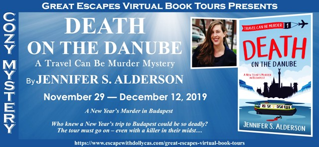 DEATH ON THE DANUBE MURDER BANNER 640