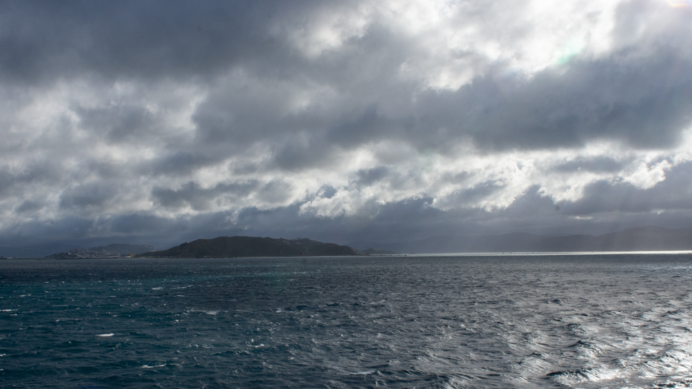 Cook Strait - a picturesque passage between islands