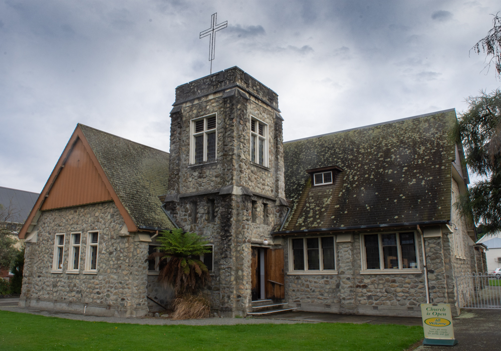 St. Andrews Church in Geraldine, New Zealand