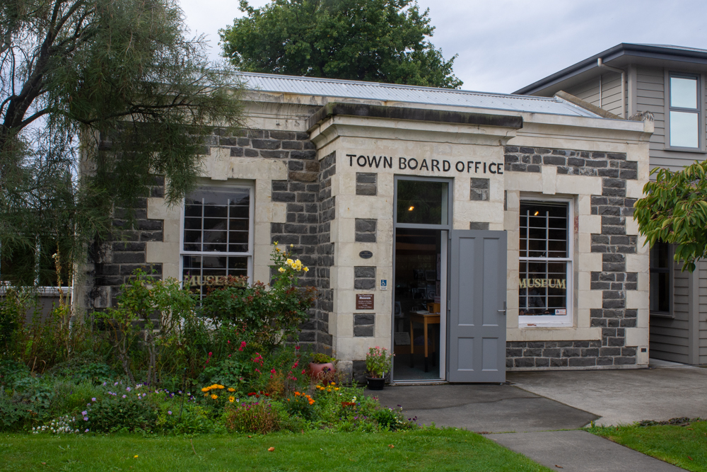 Town Board Office in Geraldine, NZ