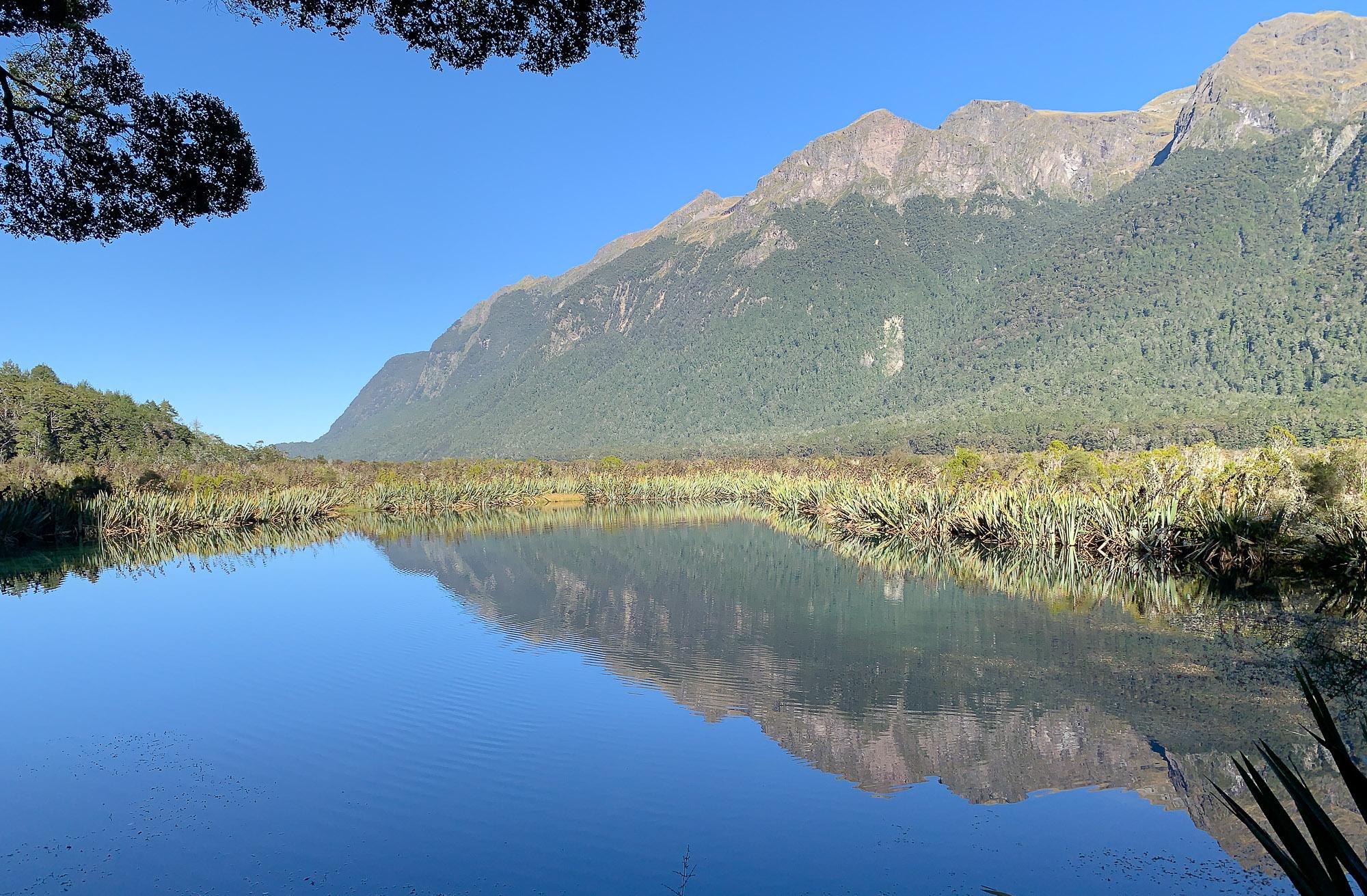 Beauty of New Zealand's Mirror Lakes