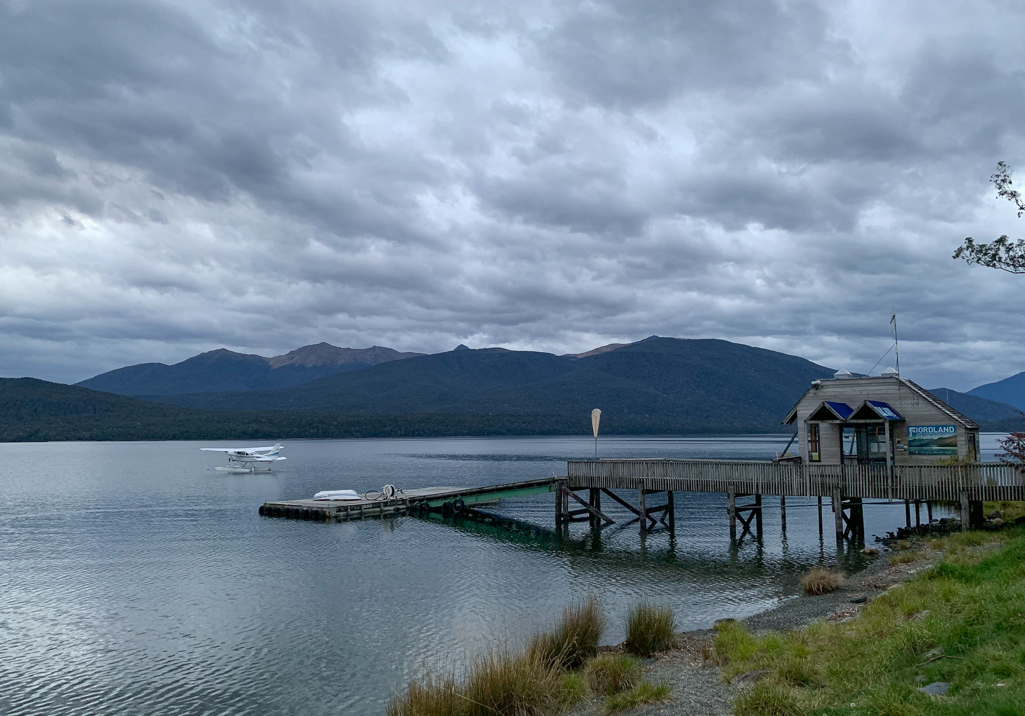 Small dock at Te Anau