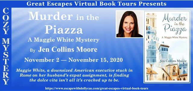 Murder in the Piazza by Jen Collins Moore