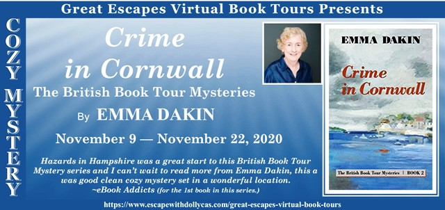 Crime in Cornwall tour graphic