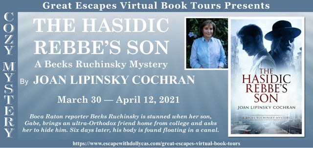 The Hasidic Rebbe's Son tour graphic